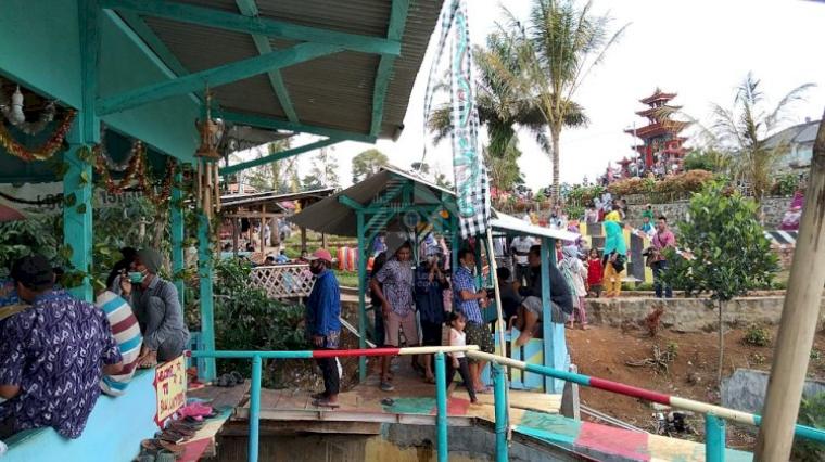 Di Lampung Barat, Ada Kampung Wisata Bali