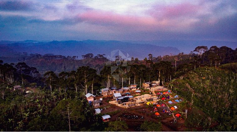 Temiangan Hill Destinasi Yang Sedang Naik Daun di Lampung Barat