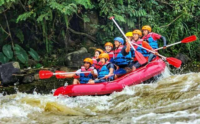 Way Besai Rafting